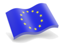 european_union_glossy_wave_icon_128