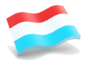 luxembourg_glossy_wave_icon_128